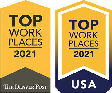 Top Work Place, 2021 National and Denver Post
